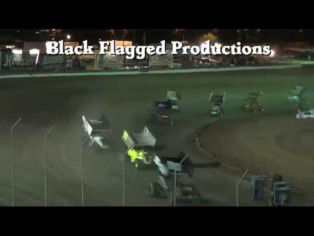 ASCS Sprint Car Main Event From CSP Aug 17th 2013