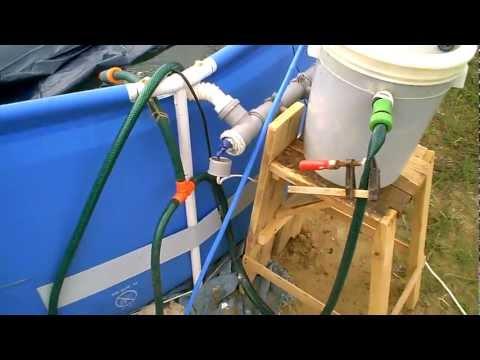 Песочный фильтр для бассейна своими руками фото
