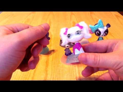 Что делают игрушки Littlest Pet Shop в Хэппи Мил