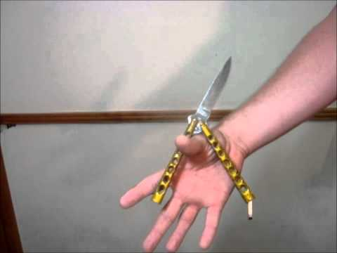 Butterfly Knife Tricks (Zen Rollover)
