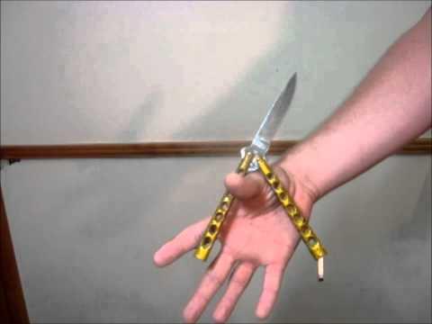 Butterfly Knife Tricks (Zen Rollover)