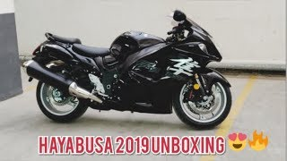 Suzuki Hayabusa 2019 Unboxing and Delivery (BLACK)