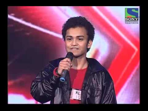 X Factor India - Dipankar's Funny Performance On Bheege Honth Tere - X Factor India - Episode 5 -  2nd June 2011 video