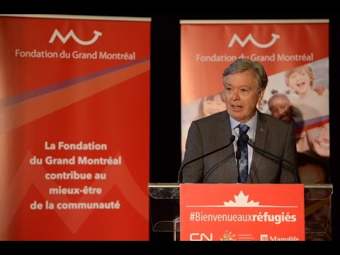 Conférence de presse - Lancement du Fonds d'aide aux réfugiés syriens du Grand Montréal