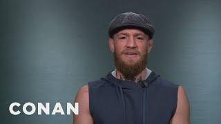 Conor McGregor: Khabib Nurmagomedov Fears Me  - CONAN on TBS