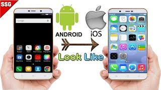 How to Make your Android device look exactly like an iPhone (iOS 9)/ (iSO 10) 2016