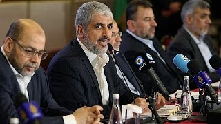 Palestinians react after Hamas unveils new charter