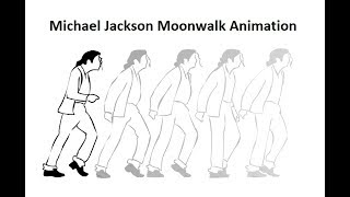 How To Animate Michael Jackson Moonwalk | Flash Animation
