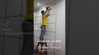 Thi Công Ốp Tường PVC Vân Đá