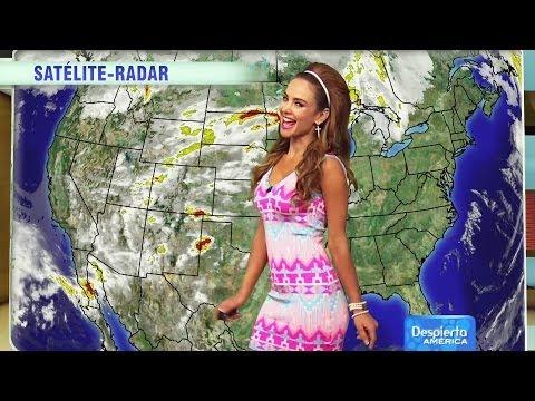 El Weather al estilo  Ximena Córdoba