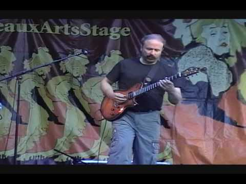 Daryl Stuermer *** Striker *** at Bastille Days/Beaux Arts Stage on July 11, 2009