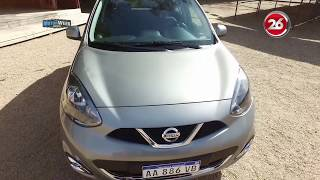 Contacto Nissan March 2017 Advance Media-Tech AT - MotorWeek Canal 26