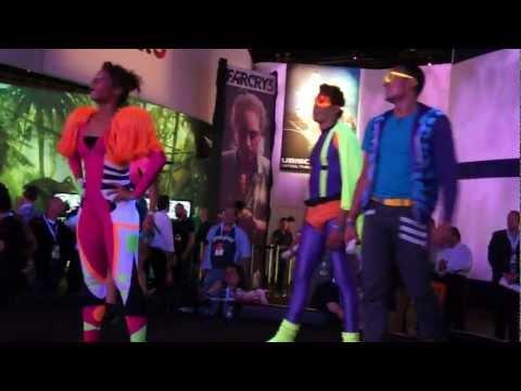 E3 2012 Just Dance 4: Nicki Minaj - Super Bass Gameplay