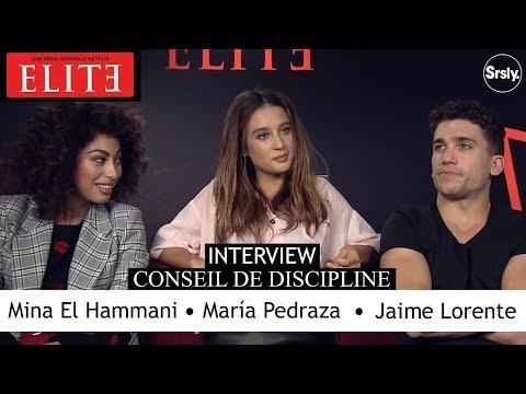 ELITE : Jaime Lorente, Mina El Hammani & Maria Pedraza en interview barrée