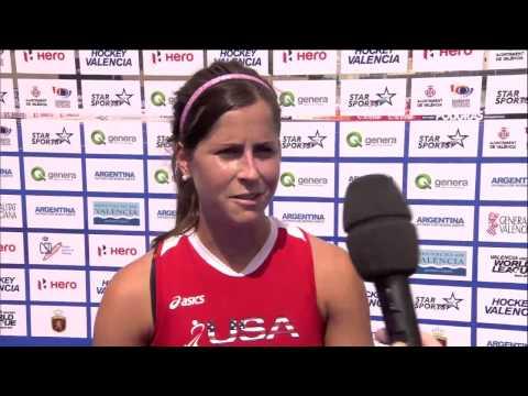 Post Match Interview Katie Reinprecht