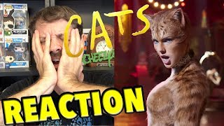 CATS Official Trailer REACTION