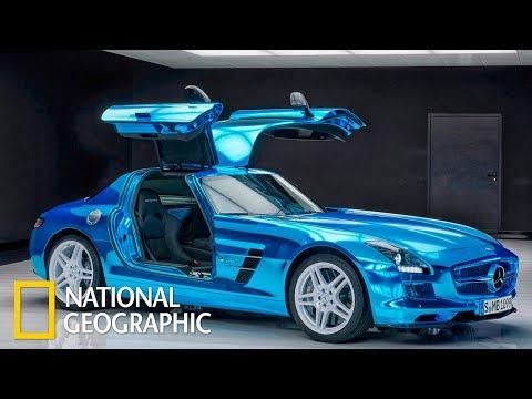 Мегазаводы: Мерседес SLS AMG / Mercedes SLS AMG