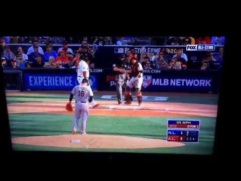 David Ortiz Last All-Star Game At Bat Ever