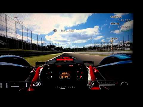 Gran Turismo 5: Red Bull X1 Challenge Gold Medal Runs