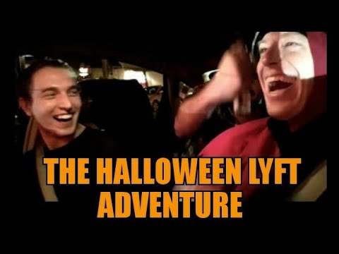 Halloween Lyft Adventure