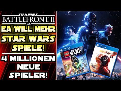 EA will mehr Star Wars Spiele machen! - Sehr viele neue Spieler für Battlefront 2 - News deutsch