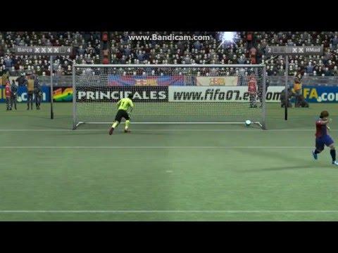 Fifa 07 Gameplay [Barcelona vs Real Madrid]