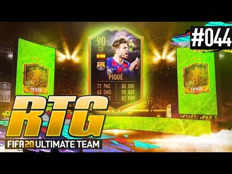 NEW TEAM + SCREAMER PIQUE! - #FIFA20 Road to Glory! #44 Ultimate Team