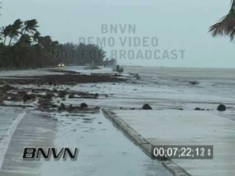 Hurricane Rita video - Key West Florida - 2005 Part 1CC