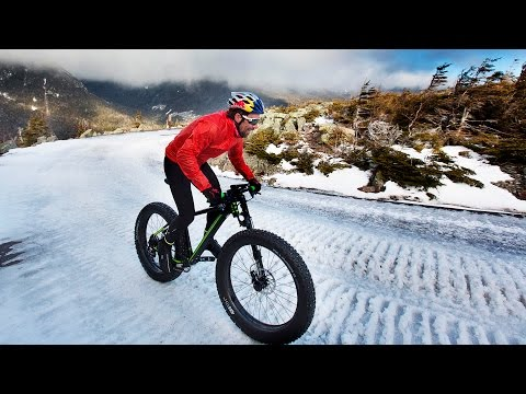 Tim Johnson's Historic Fat Bike Winter Ascent
