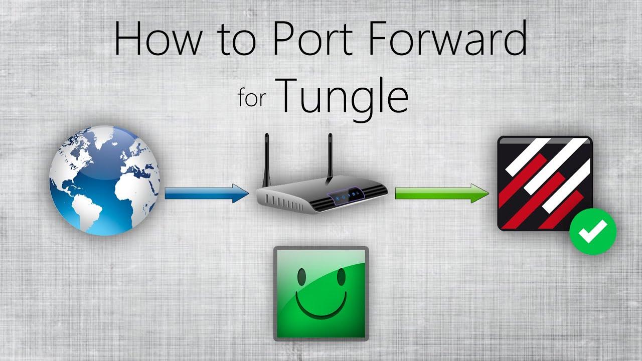 Как сделать порт в tunngle