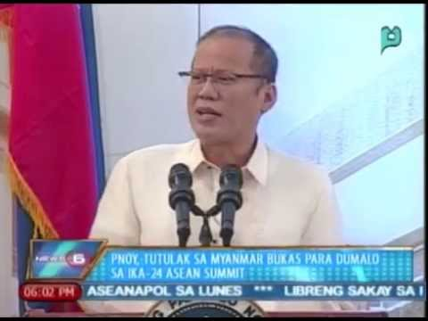 Pangulong Aquino, tutulak sa Myanmar bukas para dumalo sa ika-24 ASEAN Summit
