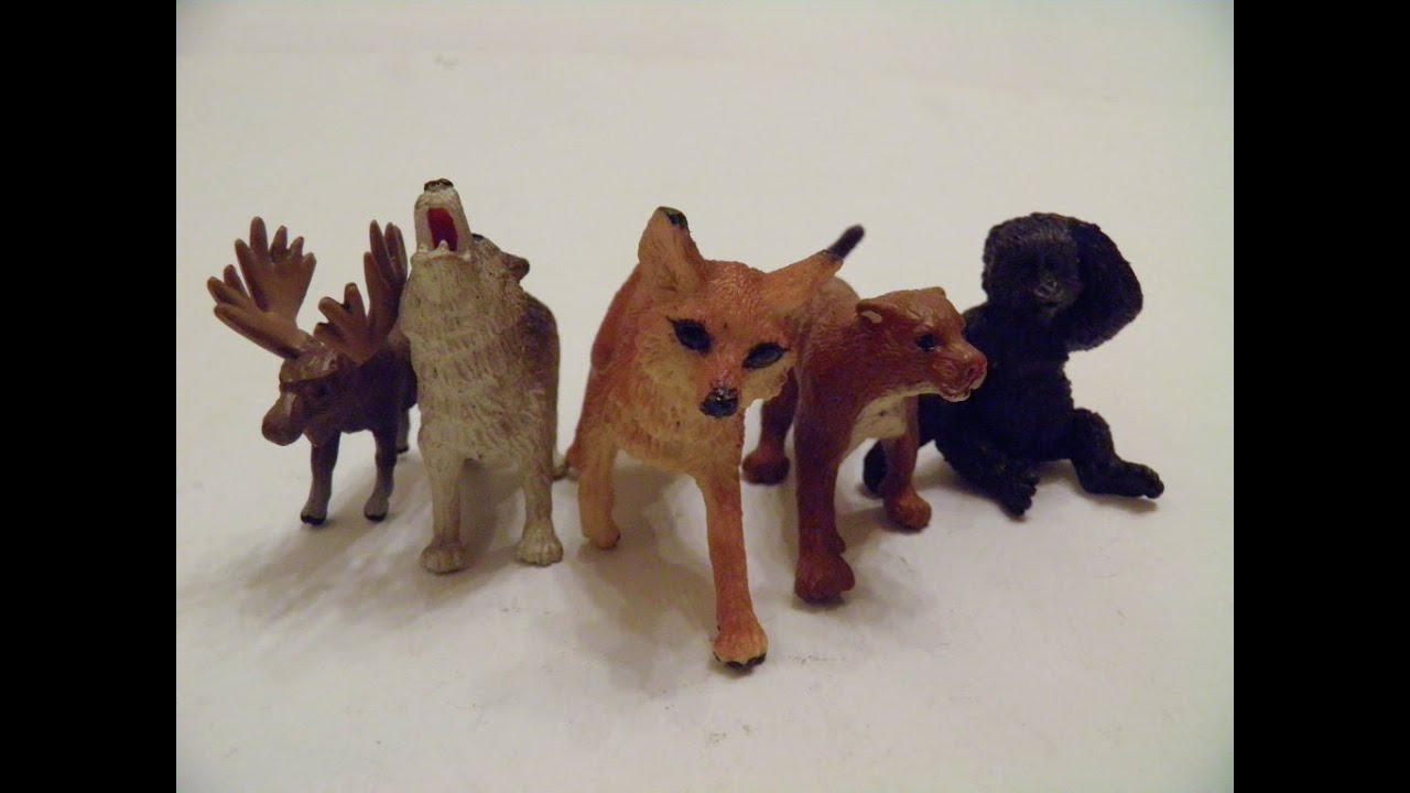 Safari Wild Animals ANIMAL JUNGLE TOYS FIGURES 13 SET Lot ZOO wolf LTD ... Zoo Animals Toys