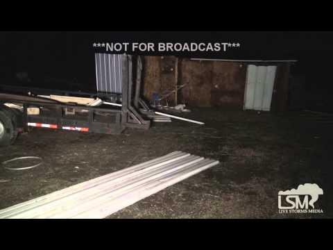 4-26-15 Carls Corner, TX Tornado Damage *Brandon Clement*