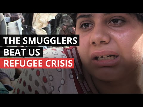 SYRIA CONFLICT | Syrian Refugees Beaten by Smugglers