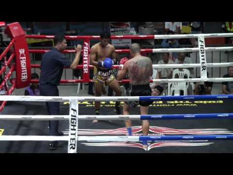 Alessandro (Tiger Muay Thai) vs Singsuk (Eagle Muay Thai) @ Rawai Boxing Stadium 19/12/15