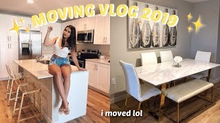I MOVED OUT! MOVING VLOG 2019 ♡