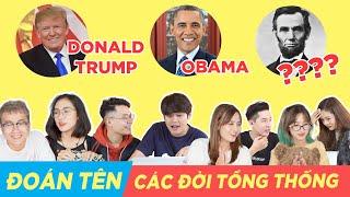 GAME HACK NÃO : Thử tài đoán tổng thống Mỹ cực khó nhằn !