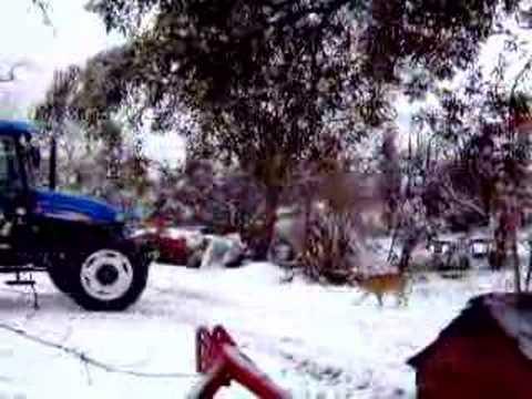 New Holland TD75D (New2007) Snow Video Tractor...TURKEY