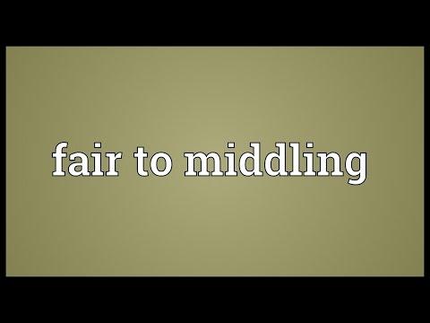 Header of middling