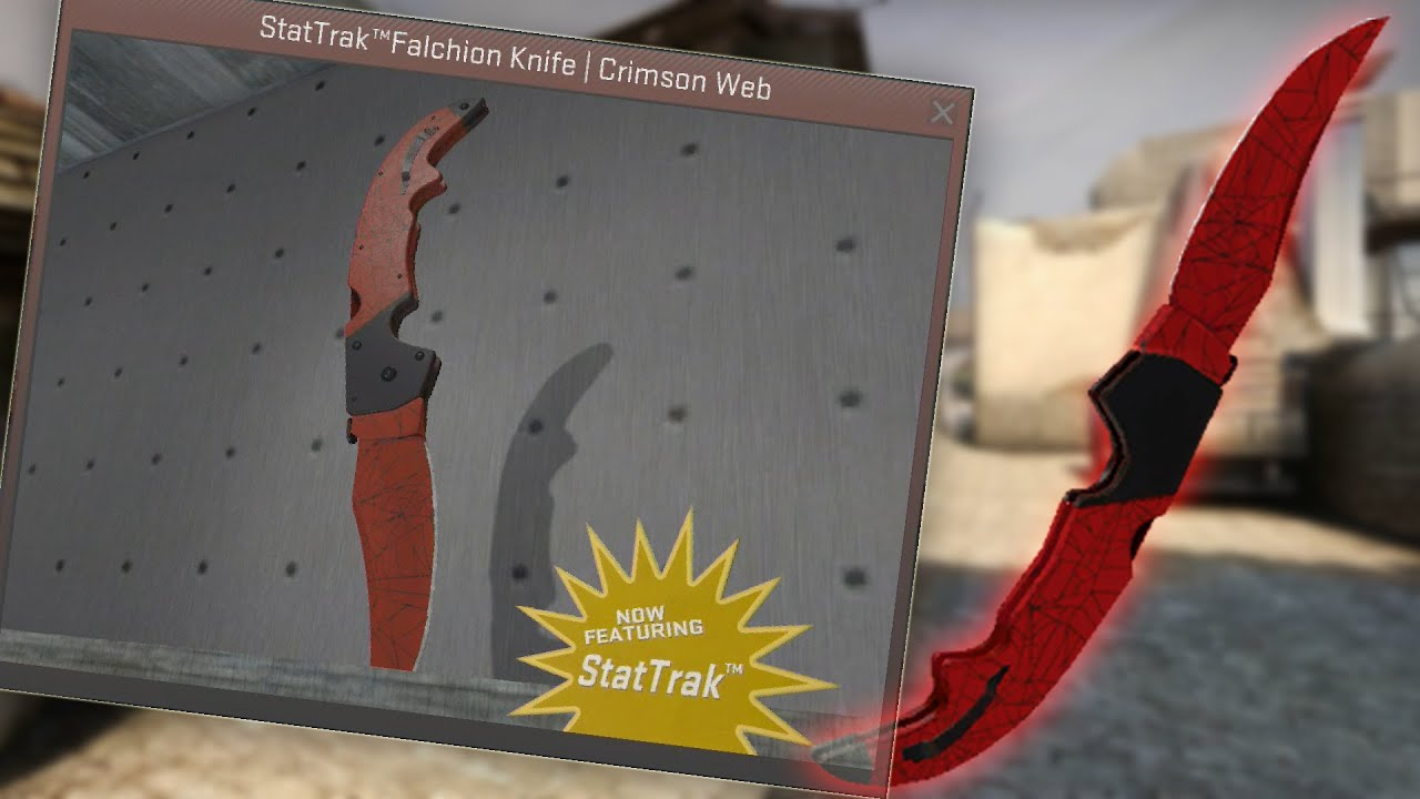 CS GO Falchion Knife Crimson Web - Bing images