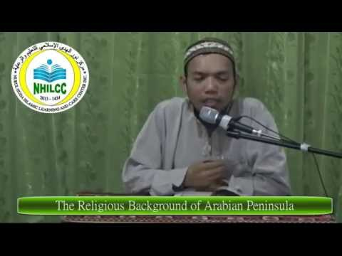 The Religious Background of Arabian Peninsula (Tagalog)