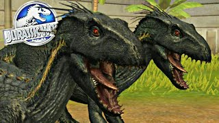Indoraptor: Novo Super Dinossauro Híbrido! Jurassic World o Jogo [The Game]