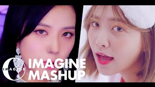 BLACKPINK/RED VELVET - DDU DU DDU DU/BAD BOY MASHUP [BY IMAGINECLIPSE]
