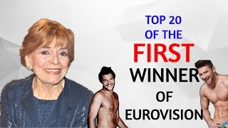 The FIRST Eurovision winner reveals her TOP 20 of Eurovision 2016!