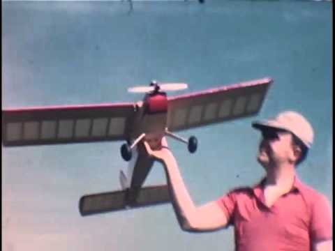 RC flying airplanes 1950s-1960s