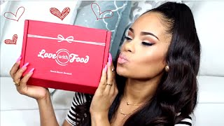 July 2014 Love With Food Box - Unboxing & Tasting!