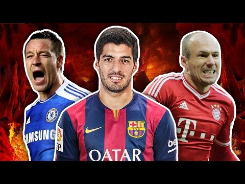 Top 10 Most Hated Footballers