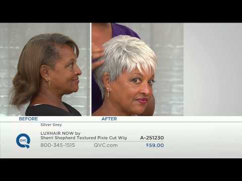 LUXHAIR NOW by Sherri Shepherd Textured Pixie Cut Wig with Jacque Gonzales