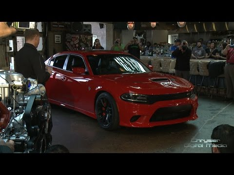 2015 Dodge Charger SRT Hellcat Reveal (Full Show)