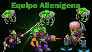 Monster Legends - Equipo Alienígena [Skeel Trooper, Exo Skeel y Master Skeel]